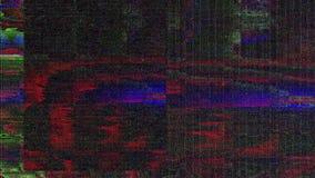 Fondo dinámico ruidoso de transformación del Cyberpunk 90s ilustración del vector