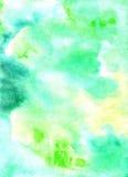 Fondo dipinto aguarelle del lavoro manuale L'immagine può essere usata per Fotografia Stock