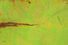 Fondo dipinto di struttura della superficie del ferro Immagine Stock