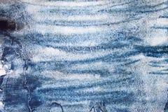 Fondo dipinto a mano astratto creativo, carta da parati, struttura macchia dipinta del colpo della spazzola dell'acquerello, elem illustrazione vettoriale