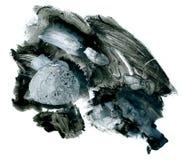 Fondo dipinto a mano astratto dell'acquerello. Fotografie Stock