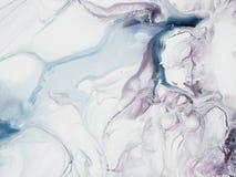 Fondo dipinto a mano creativo di astrattismo del paintin acrilico Immagine Stock