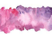 Fondo dipinto a mano dell'acquerello Immagini Stock Libere da Diritti
