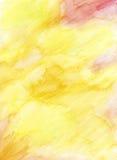 Fondo dipinto a mano della matita dell'acquerello Fotografie Stock Libere da Diritti
