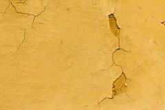 Fondo dipinto screpolato rustico dell'estratto di struttura della parete fotografia stock