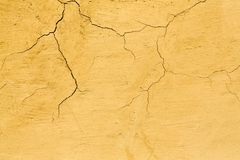 Fondo dipinto screpolato rustico dell'estratto di struttura della parete immagini stock libere da diritti