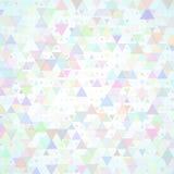 Fondo dispersado multicolor de los triángulos ilustración del vector