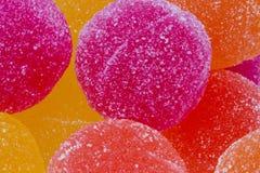 Fondo dolce di marmellata d'arance Fotografia Stock Libera da Diritti