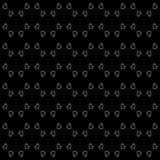 Fondo domestico in bianco e nero senza cuciture del modello di vettore Arti, ambiti di provenienza fotografia stock libera da diritti