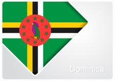 Fondo dominicano del diseño de la bandera Ilustración del vector stock de ilustración
