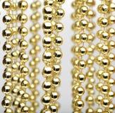 Fondo dorato astratto Fotografie Stock