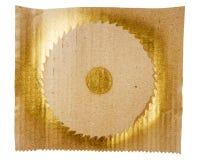 Fondo dorato astratto di arte Immagine Stock