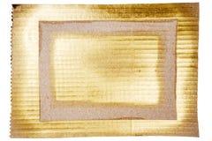 Fondo dorato astratto di arte Immagini Stock