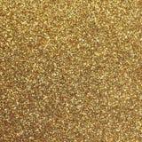 Fondo dorato che splende oro giallo uniformemente colorato Fotografia Stock Libera da Diritti