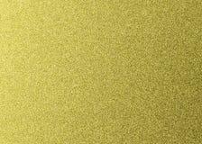 Fondo dorato di struttura di scintillio Carta metallica per progettazione fotografia stock