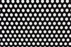 Fondo doted blanco y negro del extracto de la arquitectura imagen de archivo libre de regalías