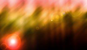 fondo drammatico di concetto del chiarore della lente di effetto della luce bello Fotografia Stock