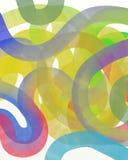 Fondo drenado mano abstracta de la acuarela libre illustration