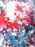 Fondo drenado mano abstracta de la pintura Imagenes de archivo