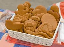 Fondo dulce de la comida Productos de la panadería Fotografía de archivo