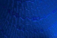 Fondo duro blu reale di web delle coperture dell'estratto immagine stock libera da diritti