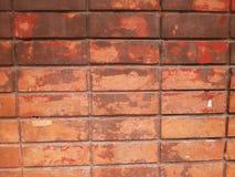 Fondo e carta da parati di struttura del muro di mattoni Immagini Stock Libere da Diritti