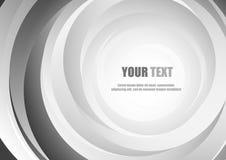 Fondo e sjpace astratti di stile del cerchio per testo illustrazione di stock