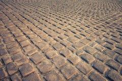 Fondo e struttura del pavimento di pietra Fotografie Stock Libere da Diritti