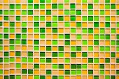 Fondo e struttura quadrati astratti del mosaico del pixel fotografia stock