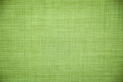 Fondo ecologico verde chiaro di struttura della tela fotografie stock libere da diritti