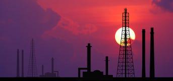 Fac eléctrico del negocio industrial de la industria de la central eléctrica de la central eléctrica Fotos de archivo libres de regalías