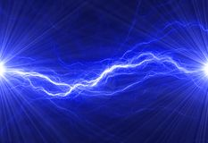 Fondo eléctrico abstracto Fotos de archivo libres de regalías