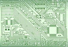 Fondo electrónico industrial de alta tecnología libre illustration