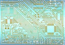Fondo electrónico industrial de alta tecnología imágenes de archivo libres de regalías