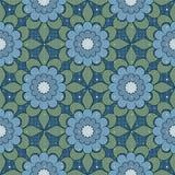 Fondo elegante abstracto inconsútil del modelo de flores Imagen de archivo libre de regalías