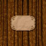 Fondo elegante con el ornamento del cordón Foto de archivo libre de regalías