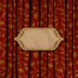 Fondo elegante con el ornamento del cordón Fotos de archivo