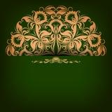 Fondo elegante con l'ornamento a filigrana Immagine Stock