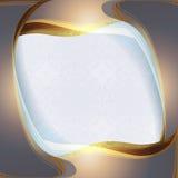 Fondo elegante con oro ilustración del vector