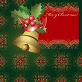 Fondo elegante de la Navidad Foto de archivo