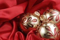 Fondo elegante de la Navidad Imagen de archivo