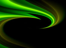 Fondo elegante de la onda verde Foto de archivo