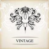 Fondo elegante del vintage para las invitaciones Imagen de archivo libre de regalías