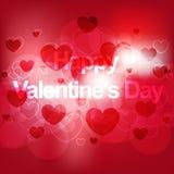 Fondo elegante felice di giorno di biglietti di S. Valentino Immagine Stock Libera da Diritti