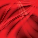 Fondo elegante ondulado rojo abstracto Foto de archivo libre de regalías