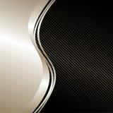 Fondo elegante: plata y negro. Imagenes de archivo