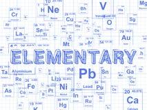 Fondo elemental del papel cuadriculado del elemento stock de ilustración