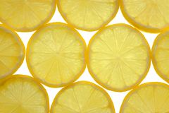 Fondo embaldosado de los limones Imágenes de archivo libres de regalías