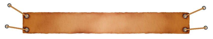 Fondo en anaranjado y marrón con las cuerdas Fotos de archivo