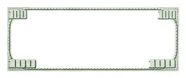 Fondo en blanco del dinero Foto de archivo libre de regalías